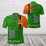 Zambia Home All Over Print Polo Shirt