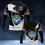 Customize Kyrgyzstan Coat Of Arms - Flag V2 All Over Print Hoodies