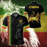 Ethiopia United All Over Print Polo Shirt