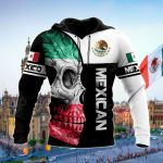 Mexican Skull All Over Print Shirts