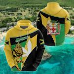 Jamaica Lion Flag Version All Over Print Shirts