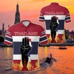 Thailand The Three - Finger Salute All Over Print Polo Shirt