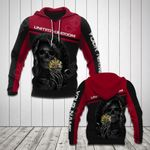 Customize United Kingdom Coat Of Arms - Reaper All Over Print Hoodies
