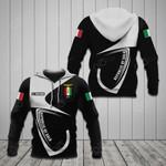 Customize Italian Social Republic Coat Of Arms & Flag All Over Print Hoodies