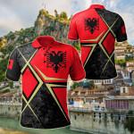 Albania - Albanian Legend All Over Print Polo Shirt