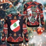 Lebanon Christmas - Santa Claus Ho Ho Ho Sweatshirt