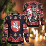 Lithuania Christmas - Santa Claus Ho Ho Ho Sweatshirt