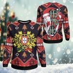 Portugal Christmas - Santa Claus Ho Ho Ho Sweatshirt