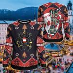Austria Christmas - Santa Claus Ho Ho Ho Sweatshirt