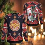 Bhutan Christmas - Santa Claus Ho Ho Ho Sweatshirt