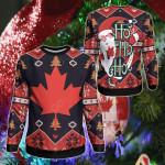 Canada Christmas - Santa Claus Ho Ho Ho Sweatshirt