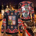 Czech Republic Christmas - Santa Claus Ho Ho Ho Sweatshirt