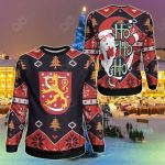 Finland Christmas - Santa Claus Ho Ho Ho Sweatshirt