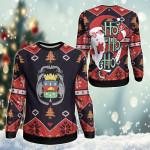 French Guiana Christmas - Santa Claus Ho Ho Ho Sweatshirt
