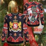 Georgia Christmas - Santa Claus Ho Ho Ho Sweatshirt