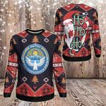 Kyrgyzstan Christmas - Santa Claus Ho Ho Ho Sweatshirt