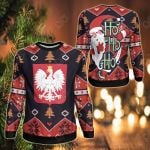Poland Christmas - Santa Claus Ho Ho Ho Sweatshirt