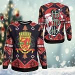 Republic Of The Congo Christmas - Santa Claus Ho Ho Ho Sweatshirt