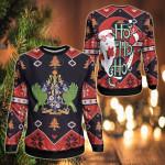 Saint Lucia Christmas - Santa Claus Ho Ho Ho Sweatshirt