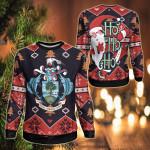 Seychelles Christmas - Santa Claus Ho Ho Ho Sweatshirt