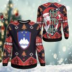 Slovenia Christmas - Santa Claus Ho Ho Ho Sweatshirt