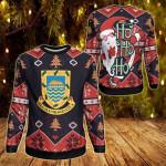 Tuvalu Christmas - Santa Claus Ho Ho Ho Sweatshirt