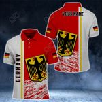Customize Germany Coat Of Arms - Special Version All Over Print Polo Shirt