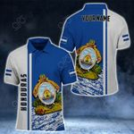 Customize Honduras Coat Of Arms - Special Version All Over Print Polo Shirt