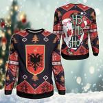 Albania Christmas - Santa Claus Ho Ho Ho Sweatshirt