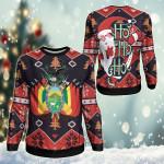 Bolivia Christmas - Santa Claus Ho Ho Ho Sweatshirt