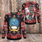 Angola Christmas - Santa Claus Ho Ho Ho Sweatshirt