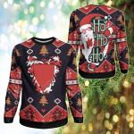 Bahrain Christmas - Santa Claus Ho Ho Ho Sweatshirt