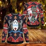 Botswana Christmas - Santa Claus Ho Ho Ho Sweatshirt
