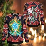 Brazil Christmas - Santa Claus Ho Ho Ho Sweatshirt