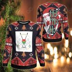 Burkina Faso Christmas - Santa Claus Ho Ho Ho Sweatshirt