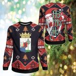 Curacao Christmas - Santa Claus Ho Ho Ho Sweatshirt