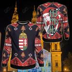 Hungary Christmas - Santa Claus Ho Ho Ho Sweatshirt
