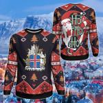 Iceland Christmas - Santa Claus Ho Ho Ho Sweatshirt