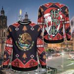 Mexico Christmas - Santa Claus Ho Ho Ho Sweatshirt