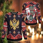 Montenegro Christmas - Santa Claus Ho Ho Ho Sweatshirt