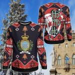 San Marino Christmas - Santa Claus Ho Ho Ho Sweatshirt