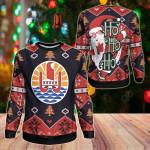 Tahiti Christmas - Santa Claus Ho Ho Ho Sweatshirt