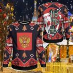 Russia Christmas - Santa Claus Ho Ho Ho Sweatshirt