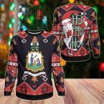 Saint Vincent & The Grenadines Christmas - Santa Claus Ho Ho Ho Sweatshirt