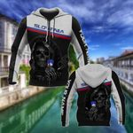 Customize Slovenia Coat Of Arms - Reaper All Over Print Hoodies