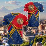 Armenia Legend All Over Print T-shirt