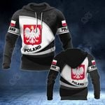 Poland Coat Of Arms - New Form All Over Print Hoodies