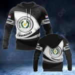 Paraguay Coat Of Arms - New Form All Over Print Hoodies