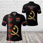 Angola - United All Over Print Polo Shirt