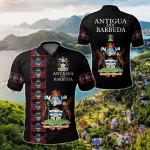 Antigua and Barbuda - United All Over Print Polo Shirt